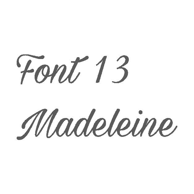 13. Madeleine