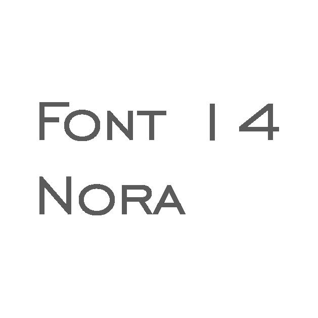 14. Nora