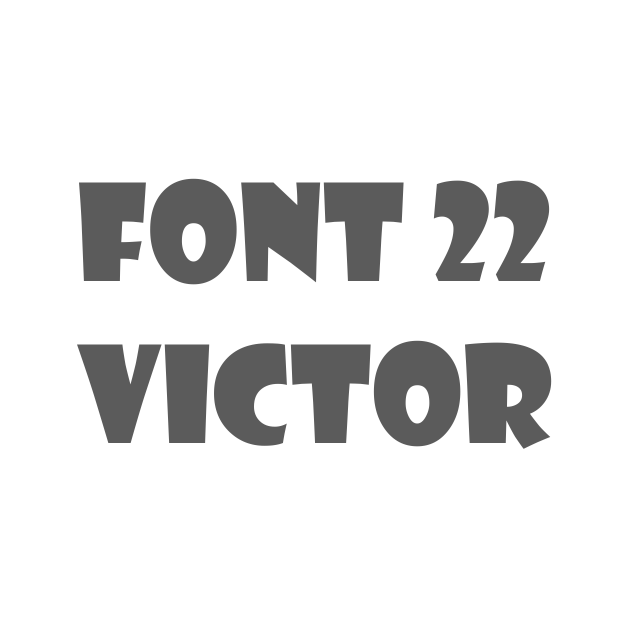 22. Victor