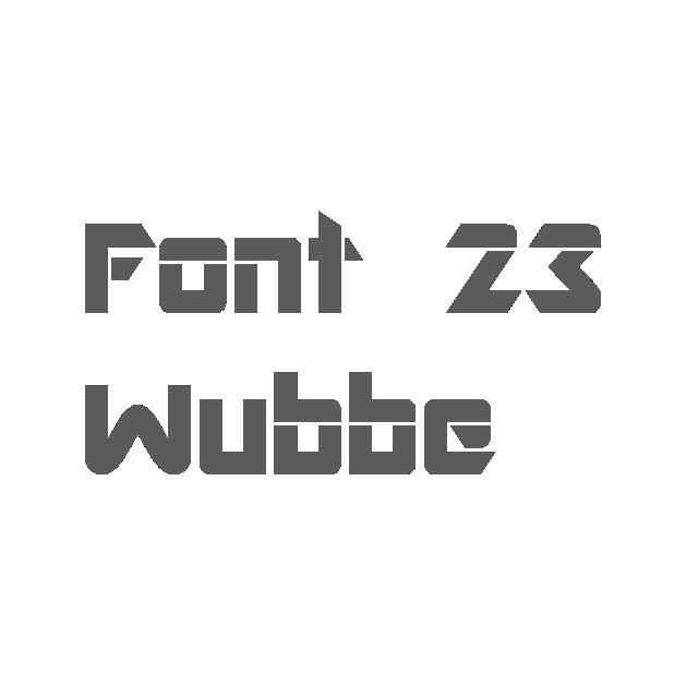 23. Wubbe