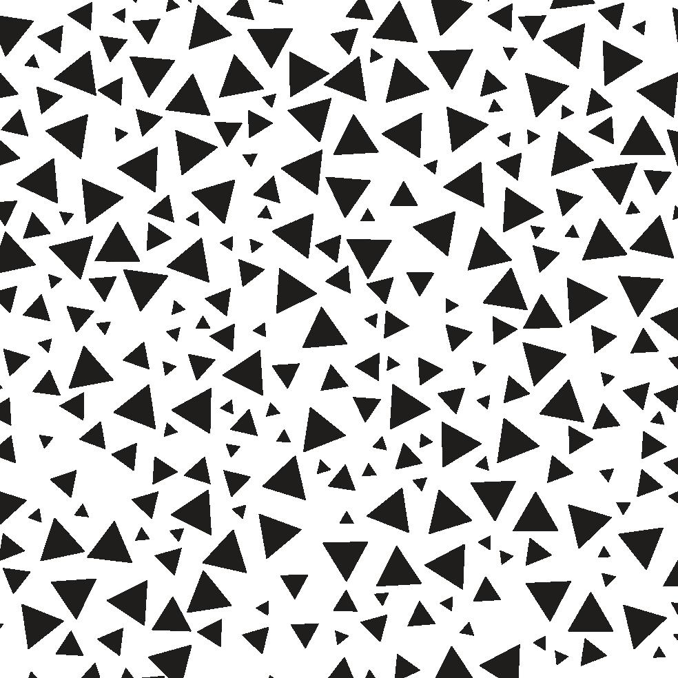 Letter Patroon Driehoekjes